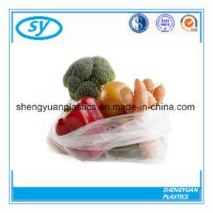 Sécurité alimentaire des ménages de sacs en plastique transparent sur le rouleau
