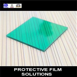 PE Film protecteur pour les feuilles en plastique comme PVC, PC, PMMA