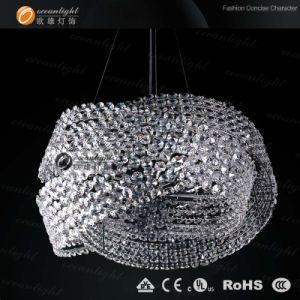 Novo design moderno russo lustres de cristal Iluminação Pendente Om88008-6dB