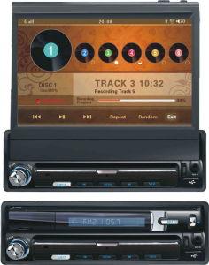 7  인치 1 DIN 에서 돌진 차 DVD 플레이어 (DTG8701)