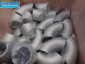 Gomito saldato dell'accessorio per tubi dell'acciaio inossidabile 304