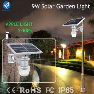 庭のLED 9Wの太陽センサーシステム夜壁ライト