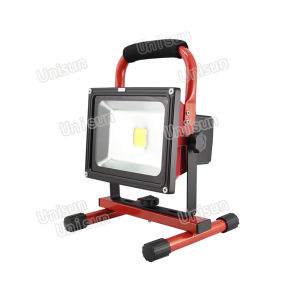 Recargable de alta potencia 50W proyector LED de exterior
