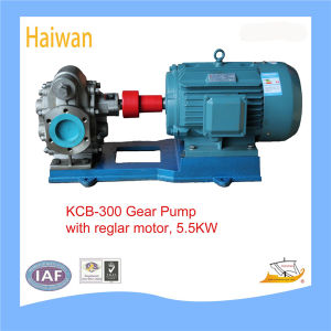 Motor normale KCB 5.5kw Hydraulic Gear Oil Transfer Pump Parte