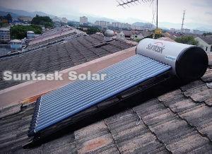 Heat Pipe (STH-150L)のコンパクトなPressurized Solar Water Heater