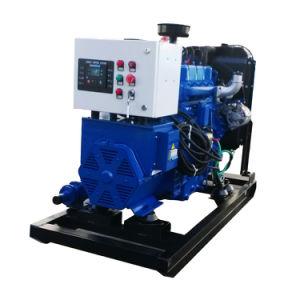 La Chine fournisseur 30kw de biogaz/générateur de gaz naturel