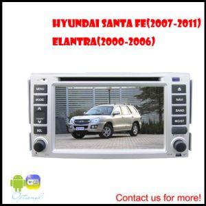 Automobile DVD con il GPS per nuovo Santa Fe (2007-2011) /Elantra (2000-2006) (RBT-H6217)