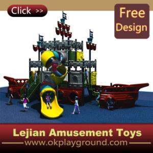 CE drôle d'enfants Aire de jeux en plastique de plein air en plastique (X1208-2)