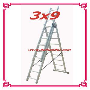 3セクションExtension Ladder 3x9