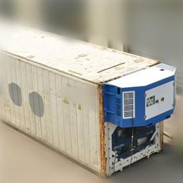 容器プロセスのための冷やされていたGenset