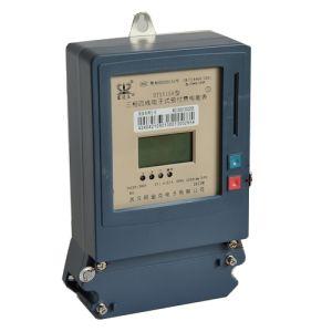 Сертифицированным инженером по три этапа четыре провода IC Карты предоплаты электрический/ENERGY/Вт счетчик часов работы