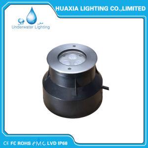 IP68 LED empotrable de acero inoxidable 316 de la luz de la piscina bajo el agua