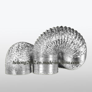 El conducto flexible de aluminio (hh-hh-B).