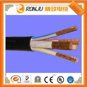 Плоский гибкий кабель питания с NBR резиновой изоляции и пламенно
