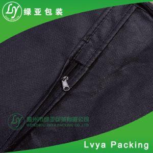 주문을 받아서 만드는 1개의 포켓을%s 가진 방진 질 옷 의복 덮개 한 벌 부대 인쇄