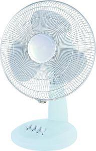 12 Ventilator van het Bureau van de duim de Witte - de Ventilator van de Lijst van het Bureau van Snelheid 3 van 30cm