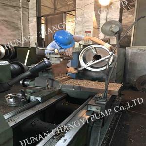 Pomp van het Water van de Drainage van de Mijnbouw van de dieselmotor de Centrifugaal
