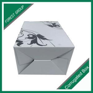 사치품은 광택이 없는 물결 모양 포도주 상자를 주문 설계한다
