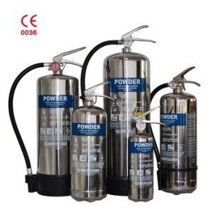 Opgeslagen Droog Chemisch Poeder 40% van de Druk ABC Het Brandblusapparaat Van roestvrij staal