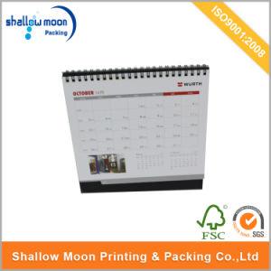 Año Nuevo 2017 la fábrica de papel personalizado Calendario de tabla (QY150307)