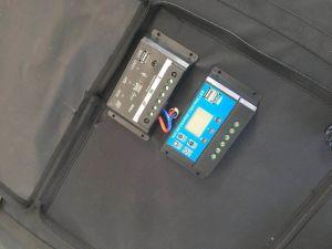 Kit de alimentación plegable 200W para cargar la batería del coche