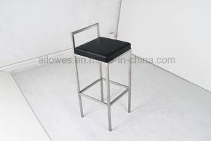 Современные PU кожаного сиденья из нержавеющей стали высокой караоке бар стульями