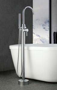 自由な床の地位の台紙の支えがない浴室の混合弁のたらいのコック