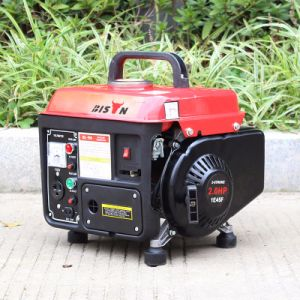 Bison (China) BS950m 650W aprovado pela CE Mini gerador a gasolina para uso doméstico