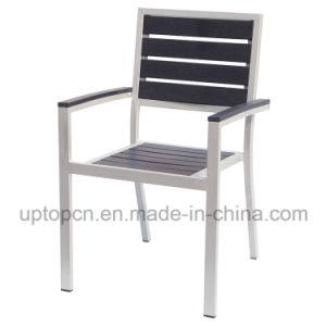 Le Bois Plastique Chaise Empilable En Aluminium De Plein Air SP OC721