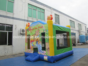Lindo Gorila inflable castillo saltar