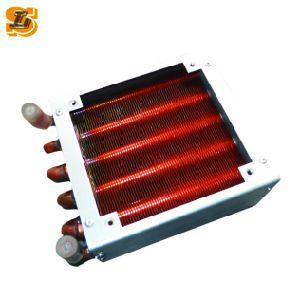 Bom desempenho Copper Fin condensador refrigerante (FP-600) para o frigorífico