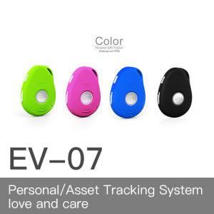 Mini perseguidor personal clasificado del GPS con la estación impermeable de IP67 y de muelle