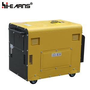 공냉식 침묵하는 유형 디젤 엔진 발전기 세트 (DG6500SE 오래된 유형)