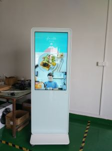 Centro Comercial de 55 pulgadas de Kiosco de Información/Publicidad Liqi Player quiosco de la pantalla táctil con Digital Signage
