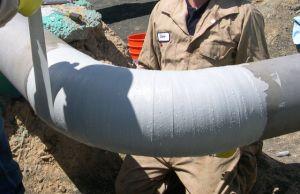 De Band van de glasvezel voor Proect, Reparatie, Moeilijke situatie, verpakt de Pijpen in de Pool van de Rivier van het Overzeese Water