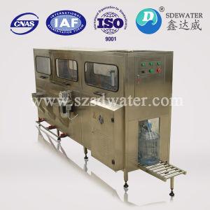 Flaschenabfüllmaschine der Qualitäts-automatischen Gallonen-3-5 mit Wasserbehandlung