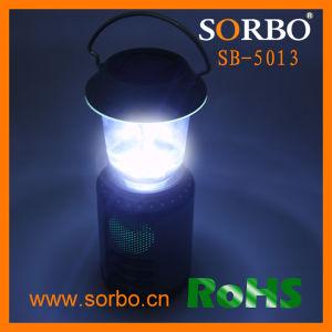 Manivela recargable con linterna LED Solar cargador de teléfono de radio