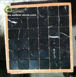 Schwarzes Marquina Marmort Mosaik, Mosaik Dekoration Für Waschraum Küche  Badezimmer