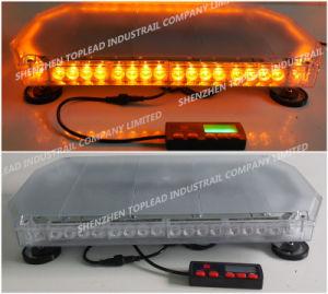 polizia di 12V 80W LED e Lightbar Emergency con il supporto del telaio e magnetico
