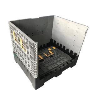 Logística de plástico dobráveis Bin caixas de paletes de plástico