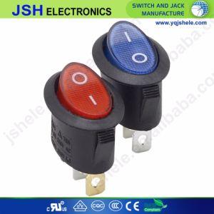 Mini-Round Panel Mount 3pino /2 Pinos /6 Pinos Illumianted interruptor basculante com diâmetro de 20mm