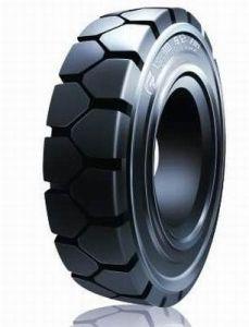 La calidad de Corea montacargas Neumático macizo Neumático neumáticos 8.25-15 Industrial