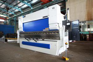 CNC Prensa Hidráulica fabricantes de freno con la regla de rejilla