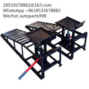 La luz del sol 2 toneladas de acero Ajustable Coche hidráulico de elevación/coche de la rampa de Cangzhou