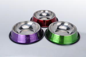 Taças de Pet para cães gatos Non-Slip Bottem de aço inoxidável de alta qualidade
