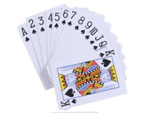 卸し売り火かき棒のカードが付いているカスタム印刷のトランプのゲームカードの火かき棒