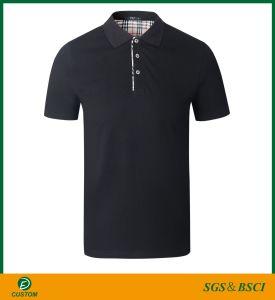 최신 판매 건조한 적합 Breathable 주문 자수 로고 폴로 셔츠