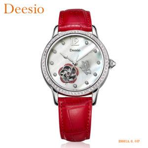 Dama de oro personalizado Pulsera mayorista de moda de lujo ver Diseño del Diseñador de cuarzo más modernos relojes de pulsera de mujer