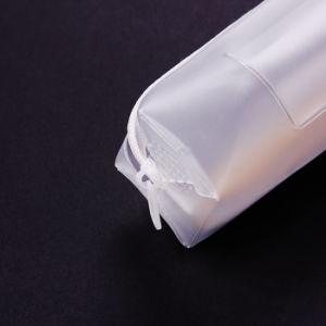 Sinicline PVC 방수 지플락 비닐 봉투 공간 많은 문구용품 부대