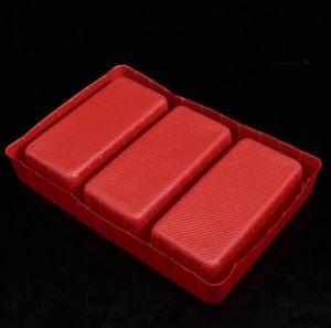 OEMデザインは赤い工具セットのまめのパッキング皿ボックスを群がらせた
